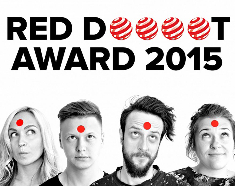 GLBA Moscow won 4 Red Dot 2016 Communication Design Awards.